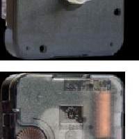 Механизм для часов  прозрачный  8 мм со стрелками