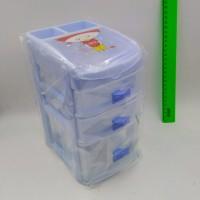 Шкатулка д/рукоделия пластик 23*14*17см182-3(45)