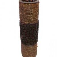 Ваза декоративная плетеная дерево 50см(1/12) BPX13020