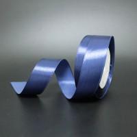 Лента атласная шир 1.2см, дл.25ярд41306-210  синий(1/10)