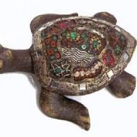 """Фигура  """"Черепаха""""   21x20x8 cm  JM051-3"""