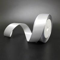 Лента атласная шир 1.2см, дл.25ярд41306-220 серебро(1/10)