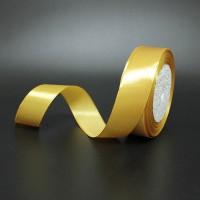 Лента атласная шир 1.2см, дл.25ярд41306-223 тёмное золото(1/10)
