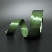 Лента атласная шир 1.2см, дл.25ярд41306-226 зелёный(1/10)