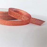 Лента металлизирован шир 2,5см, дл.25ярд41306-49вишня