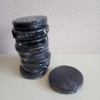 Лента бархат шир 2см, дл.10ярдов черный41306-66