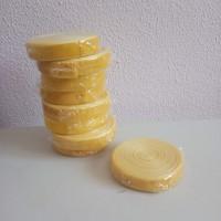 Лента бархат шир 2см, дл.10ярдов желтый41306-614
