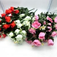 Букет  искус.цветов РОЗЫ Z005-6 90 см(48)