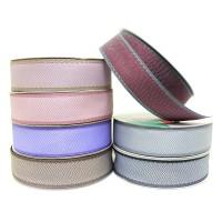Упаковочная тесьма  Текстиль   шир 3 см, дл.50 м 2357-10  7 цветов