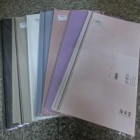 Набор ПЛЕНКИ для упаковки цветов    60*60 см 10л PVC  2357-2  9 цветов