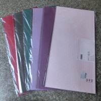Набор ПЛЕНКИ для упаковки цветов    60*120 см 10л PVC  2357-3  6 цветов