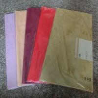 Набор ПЛЕНКИ для упаковки цветов    60*60 см 20л  Влагостойкий флизелин  2357-7  7 цветов