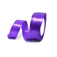 Лента атласная шир 2,5см, дл.25ярд 35  фиолетовый