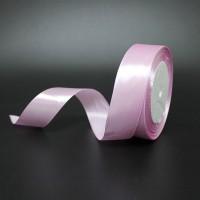 Лента атласная шир 2,5см, дл.25ярд 04  розовый