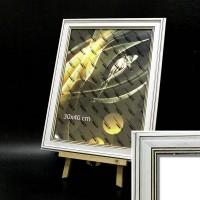 Рамка пластик А4 21*30(5406-10S)бел дуб 43мм(30)
