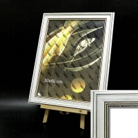 Рамка пластик А5 15*21(5406-10S)бел дуб 43мм