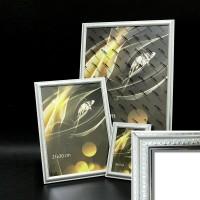Рамка пластик А6 10*15(2012-567С)серебро