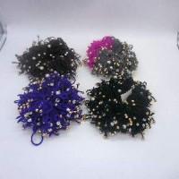 Набор резинок из 2-х шт  д/волос Фиолетовые К-33