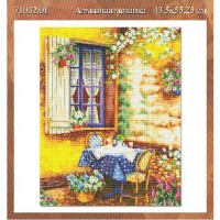 Алмазная мозаика  Дом 71032,01 44*55,75  см ПВ