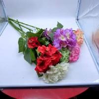 Цветок искусственный 0 420-1  Гортензия высокая 90 см  Бутон 21 см