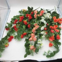Букет искус. цветов свисающий Розочки  0 420-6  80 см