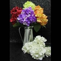 Букет искус. Цветов  0 420-8 ГОРТЕНЗИЯ  40 см  Бутон 10 см  5  цветов