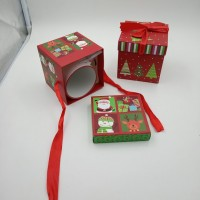 Коробка подарочная д/кружки NY 10х10х10 см / картон  4 вида  5006