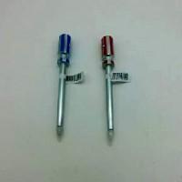 Ручка шариковая  ОТВЕРТКА  с магнитом 16см  R05