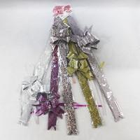 Набор  бантов для подарочной упаковки из 10 шт  9*12 см арт 30