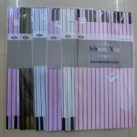 ПЛЕНКА дизайнерская  для цветов МУЗЫКАЛЬНАЯ (набор 20 листов 58*58 см) / пластик арт.113