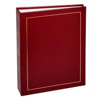 Фотоальбомы Fotografia 15x21 см., 100 фото, винил. обложка, красный, FA-VPP100/1521 - 502, классика