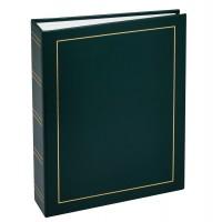 Фотоальбомы Fotografia 15x21 см., 100 фото, винил. обложка, зелёный, FA-VPP100/1521 - 503, классика