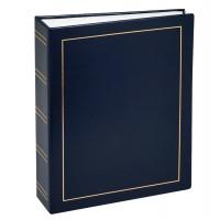 Фотоальбомы Fotografia 15x21 см., 100 фото, винил. обложка, синий, FA-VPP100/1521 - 504, классика (1
