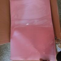 Фоамиран листовой  2 мм  50*70 см  10л  Цвет РОЗОВЫЙ  арт.G-23