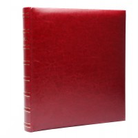 Фотоальбомы Fotografia 10x15 см., 400 фото, FA-EBBM400-845 классика  бордовый