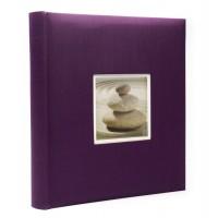 Фотоальбомы Fotografia 10x15 см., 400 фото, FA-EBBM400-848 классика  фиолетовый