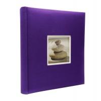 Фотоальбомы Fotografia 10x15 см., 400 фото, FA-EBBM400-849 классика  синий