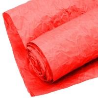 Бумага упаковочная  жатая  КРАФТ люкс Эколюкс 700 мм *5 м  красный