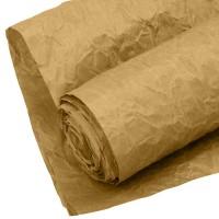Бумага упаковочная  жатая  КРАФТ люкс Эколюкс 700 мм *5 м  натуральный