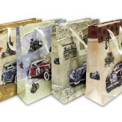 Пакет подар 18*24*8см МАШИНКИ(1/12)4диз10426-5