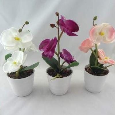 """Цветочная композиция со светодеодами""""Орхидеи 3цветка""""0432-3 (48)"""