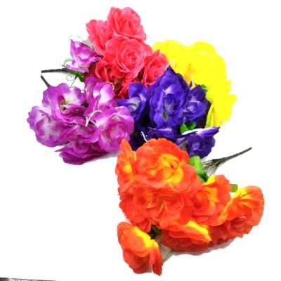 Букет искус. цветов  0013-1   40 см  Бутон  10 см  5 цветов